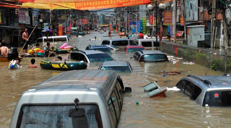 Inundaciones en China golpean a instalaciones de minería Bitcoin