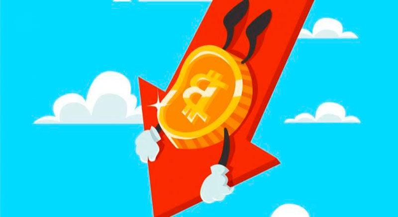 El precio del Bitcoin cae repentinamente a 7500 $