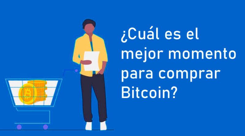 ¿Cuál es el mejor momento para comprar Bitcoin?