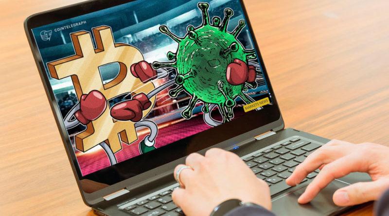 ¿Influye el coronavirus en el precio del Bitcoin?