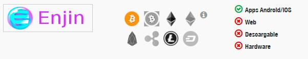 Monedero bitcoin enjin