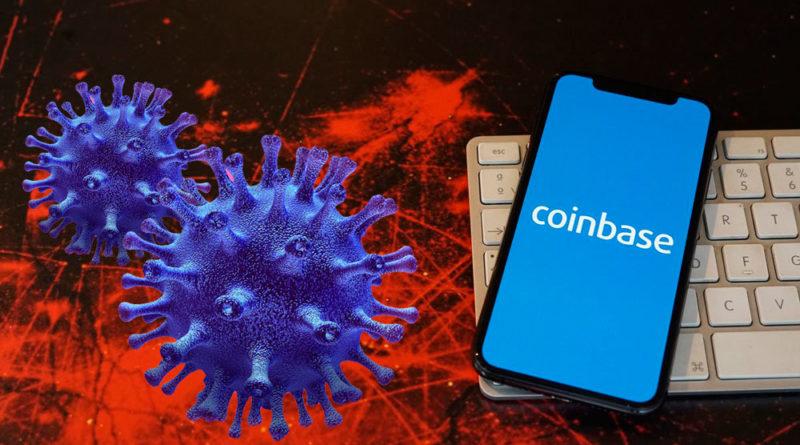 Coinbase lanza plan para enfrentar al coronavirus