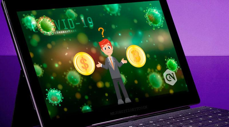 ¿Dará ventaja el COVID-19 al Bitcoin a dominar al dólar estadounidense?