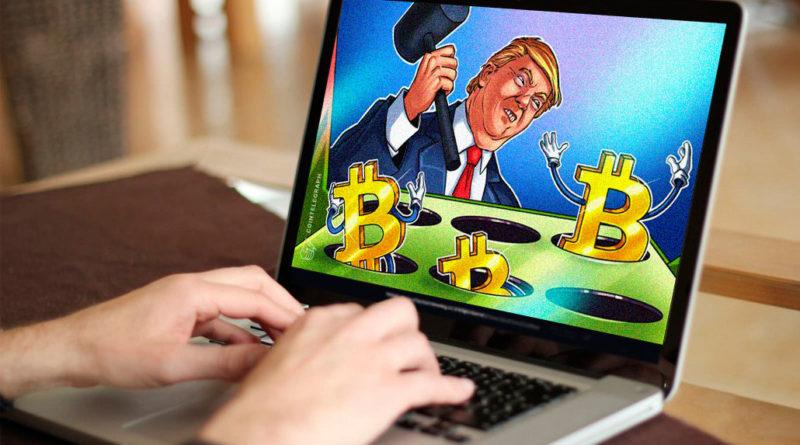 Precio del Bitcoin aumenta a 10380 $ mientras Trump amenaza con represión militar