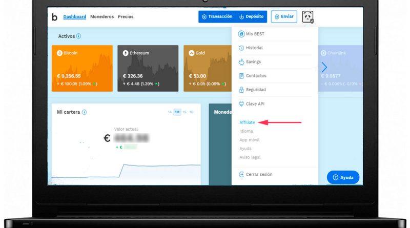 Cómo ganar euros en internet con Bitpanda