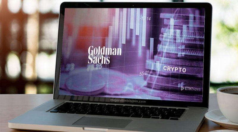 Entrará Goldman Sachs en el mercado criptográfico