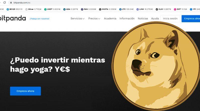 Cómo comprar Dogecoin en Bitpanda