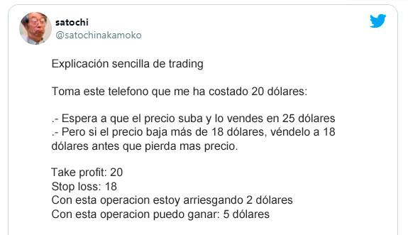 explicación fácil del trading