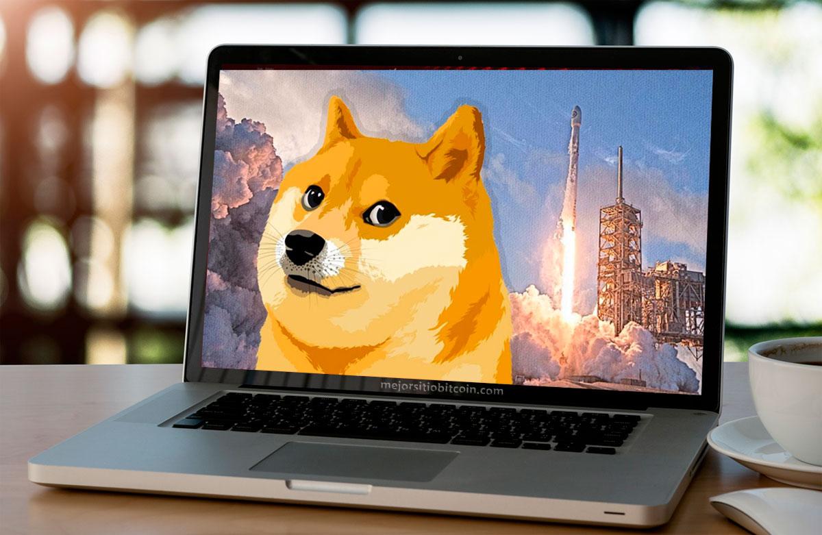 Dogecoin alcanzó un nuevo récord histórico después de listarse en eToro