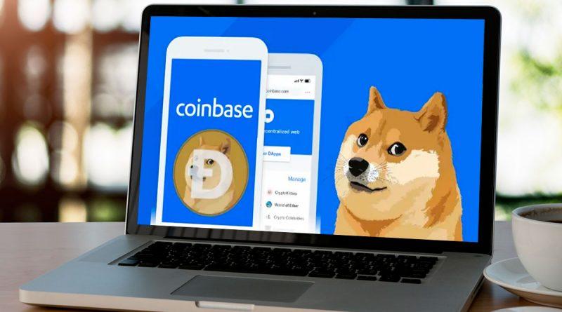 Coinbase listó a Dogecoin en su plataforma de Trading profesional