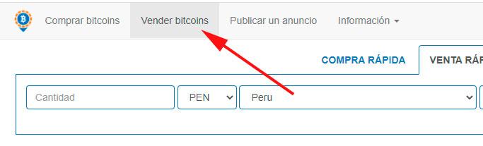 vender bitcoin en Perú