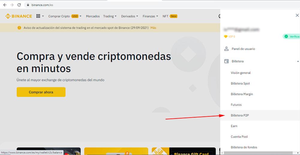 Como vender Bitcoin en Peru fácil y rapido con Binance P2P