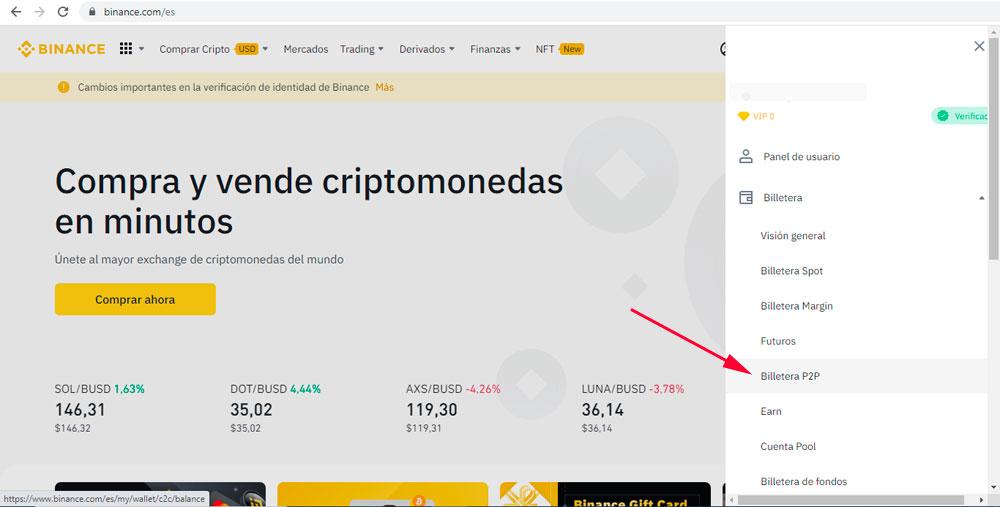 Como vender Tether USDT en soles usando Binance P2P en Peru