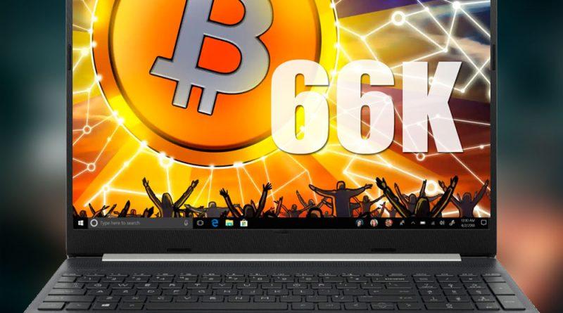 El Bitcoin supera los 66.000 dólares, su máximo histórico